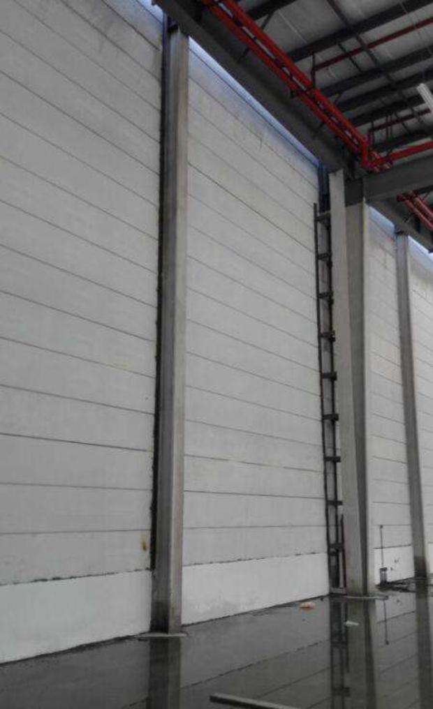 ALC轻质隔墙板与钢结构的结合