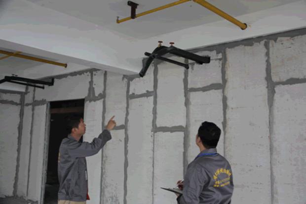 西安ALC轻质隔墙板安装流程
